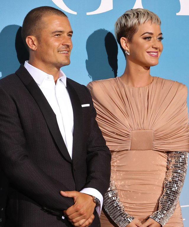 Katy Perry Orlando Bloom Monaco Charty Gala