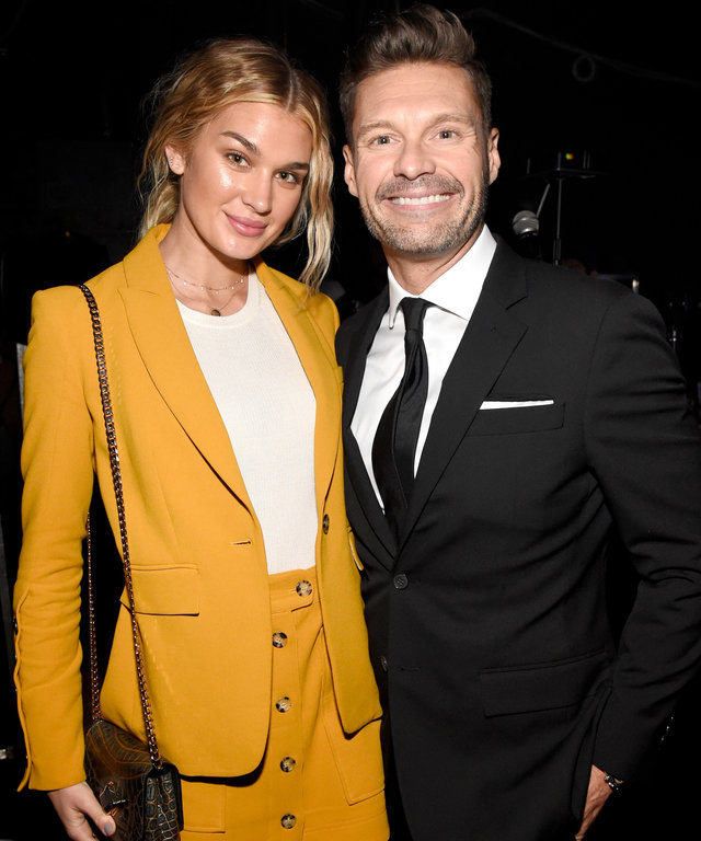 Ryan Seacrest and Shayna Taylor lead
