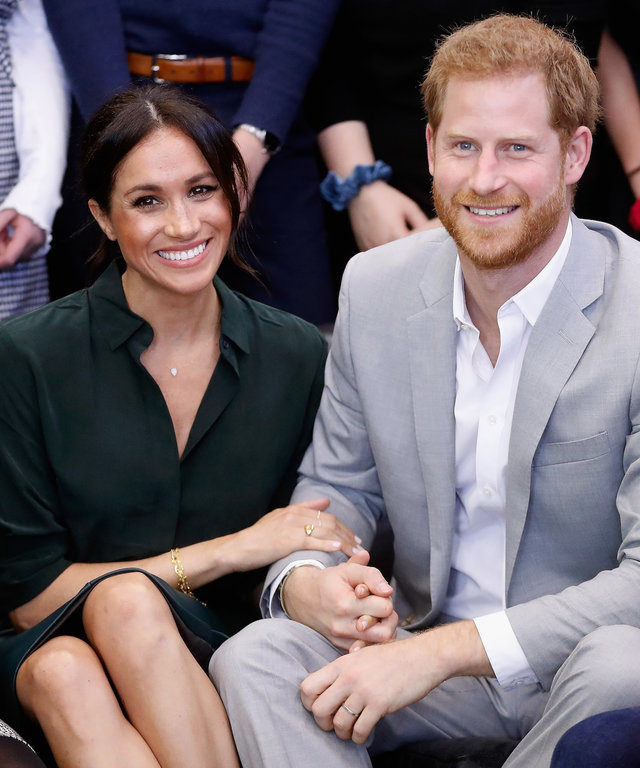 Meghan and Harry lead