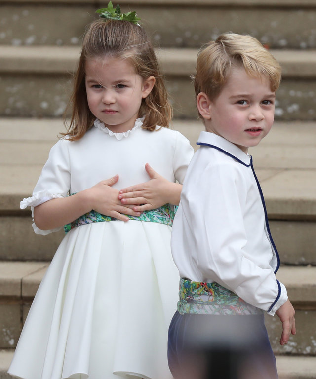 George and Charlotte lead