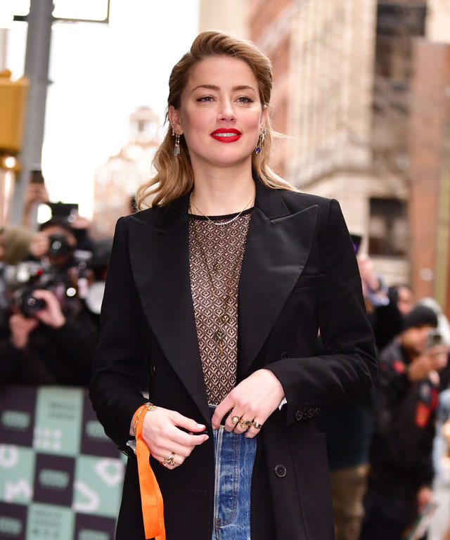 Amber Heard New York City