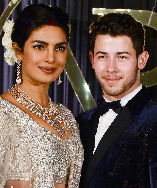 INDIA-US-ENTERTAINMENT-CELEBRITY-WEDDING