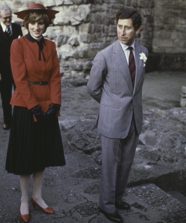 Royal Couple At Caernarfon