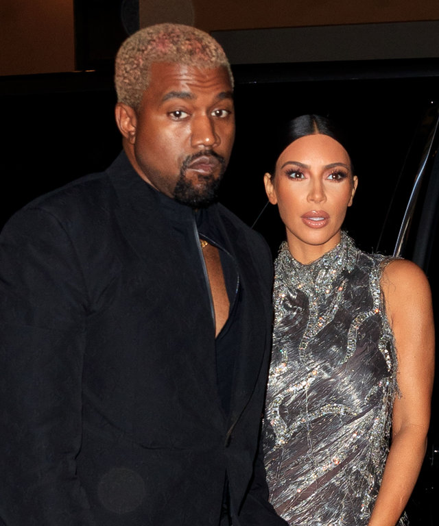 Kim Kardashian Kanye West New York City