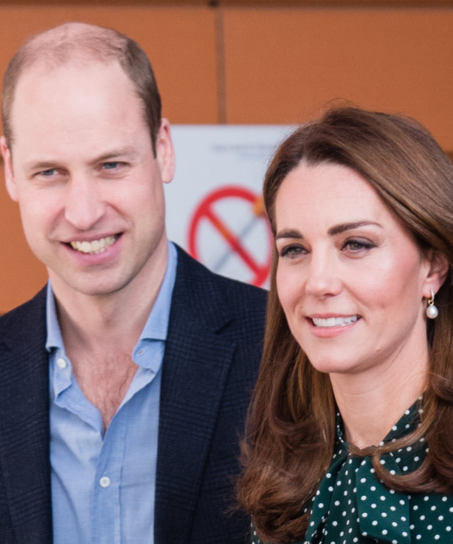 Kate Middleton and Prince William lead