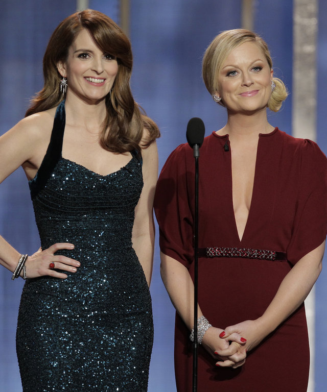 Tina Fey and Amy Poehler Golden Globes lead