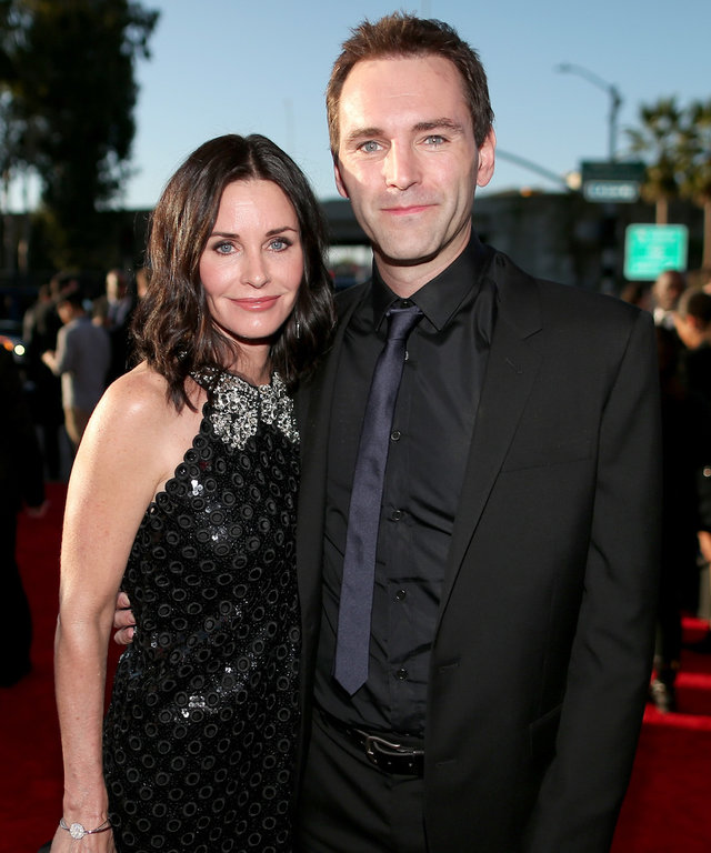 Courteney Cox and Johnny McDaid lead
