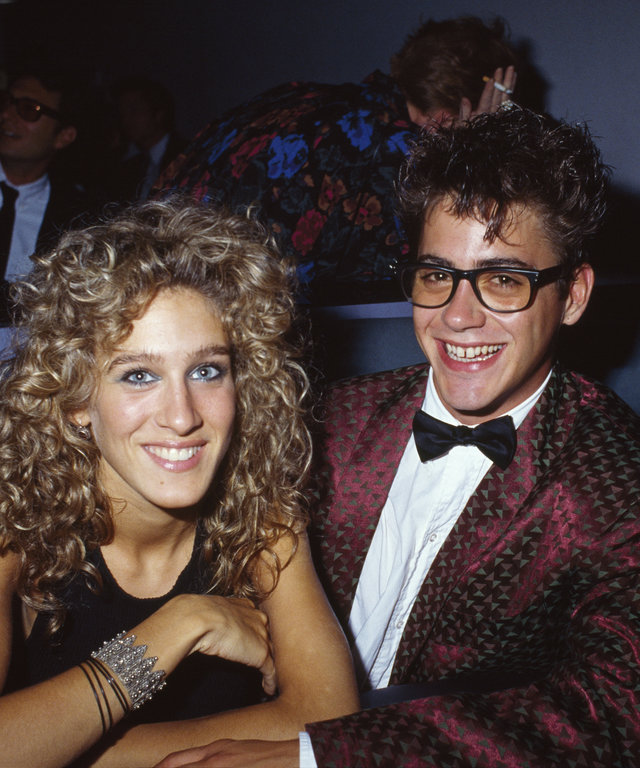 Sarah Jessica Parker with Robert Downey Jr