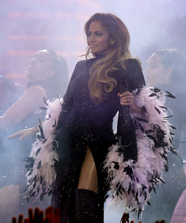 Jennifer Lopez Motown Tribute 61st Annual GRAMMY Awards