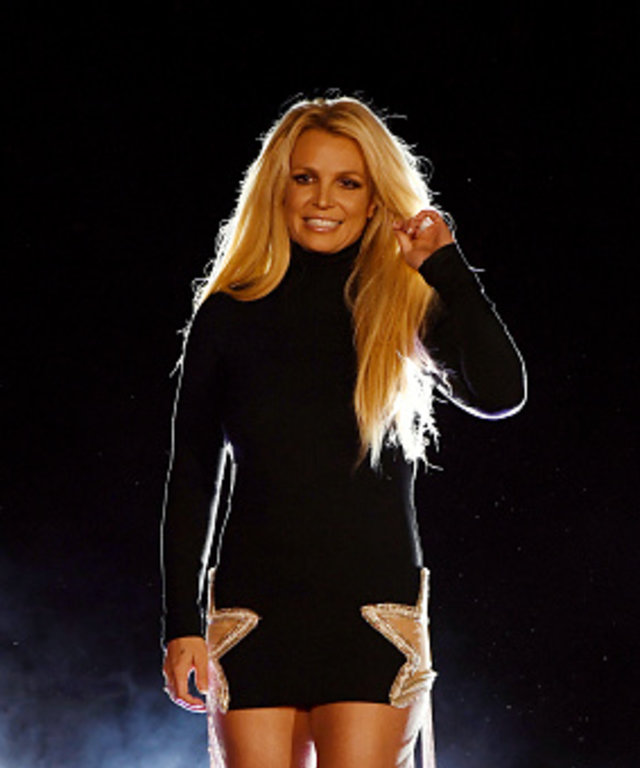 LAS VEGAS, NEVADA - OCTOBER 18:  Singer Britney Spears attends the announcement of her new residency, 'Britney: Domination' at Park MGM on October 18, 2018 in Las Vegas, Nevada. Spears will perform 32 shows at Park Theater at Park MGM starting in...