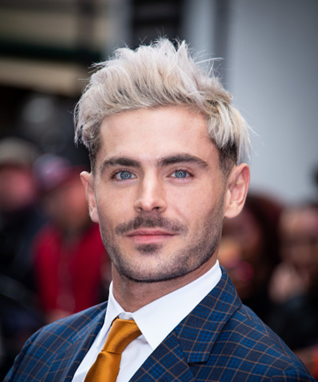 Zac Efron attending the Extremely Wicked, Shockingly Evil and Vile European Premiere held at the Curzon Mayfair, London.  (Photo by Matt Crossick/PA Images via Getty Images)