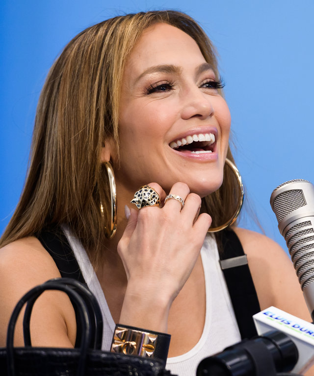 Jennifer Lopez Visits 'The Elvis Duran Z100 Morning Show'