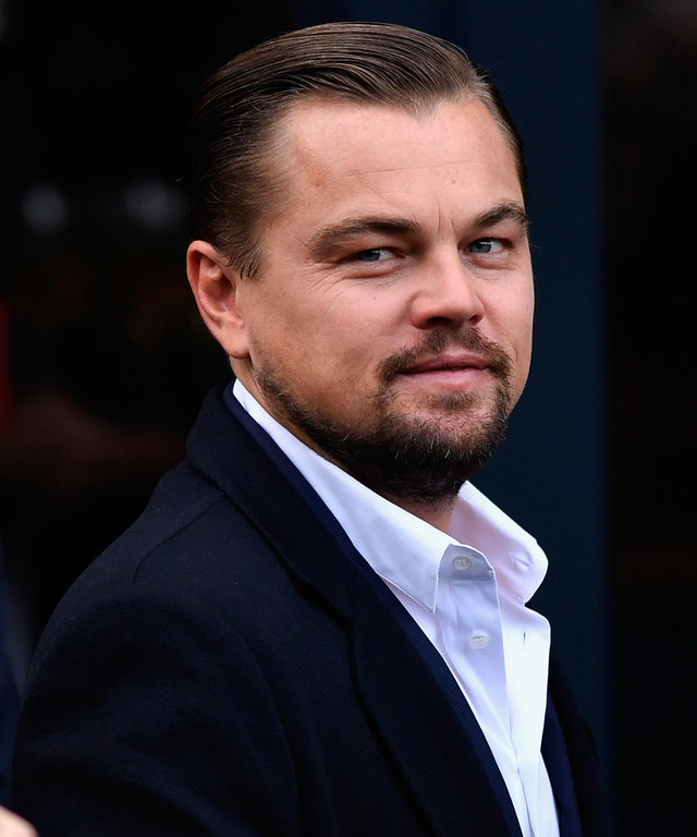 Leonardo Di Caprio Has Lunch At The Social Bite Cafe
