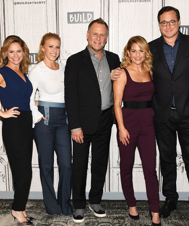 Build Presents Bob Saget, Candace Cameron Bure, Jodi Sweetin, Andrea Barber & Dave Coulier Discussing The New Season Of 'Fuller House'