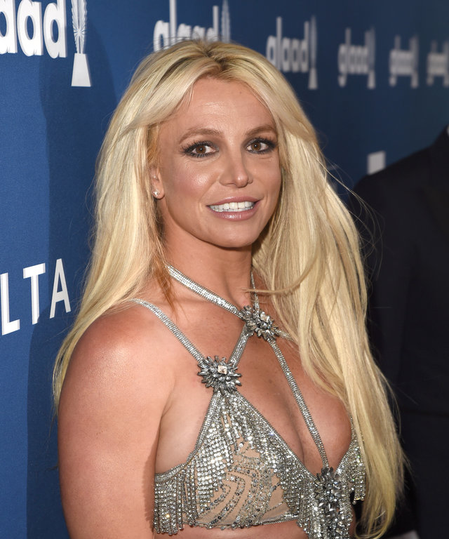 BEVERLY HILLS, CA - APRIL 12:  Honoree Britney Spears attends the 29th Annual GLAAD Media Awards at The Beverly Hilton Hotel on April 12, 2018 in Beverly Hills, California.  (Photo by J. Merritt/Getty Images for GLAAD)