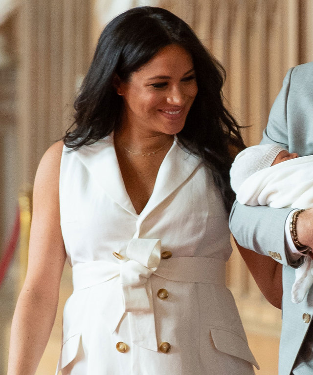 Meghan Markle Belly