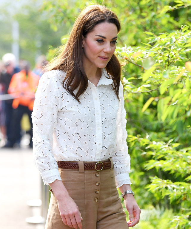 0b21a311cc Kate Middleton s Casually Cool Outfit Is Like Nothing We ve Seen Her Wear  Before