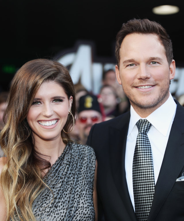 Chris Pratt Katherine Schwarzenegger Los Angeles World Premiere Of Marvel Studios'  Avengers: Endgame