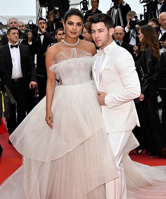Nick Jonas Priyanka Chopra 72nd Cannes Film Festival, The Best Years of a Life premiere