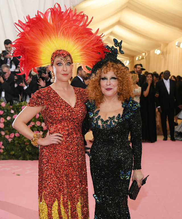 Bette Midler The 2019 Met Gala Celebrating Camp: Notes on Fashion - Arrivals