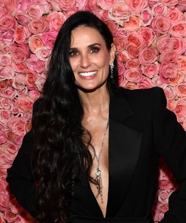 NEW YORK, NEW YORK - MAY 06: (EXCLUSIVE COVERAGE) Demi Moore attends The 2019 Met Gala Celebrating Camp: Notes on Fashion at Metropolitan Museum of Art on May 06, 2019 in New York City. (Photo by Kevin Mazur/MG19/Getty Images for The Met Museum/Vogue)