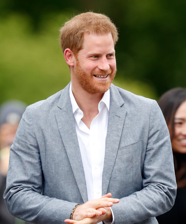 THE HAGUE, NETHERLANDS - MAY 09: (EMBARGOED FOR PUBLICATION IN UK NEWSPAPERS UNTIL 24 HOURS AFTER CREATE DATE AND TIME) Prince Harry, Duke of Sussex visits Sportcampus Zuiderpark to mark the official launch of the Invictus Games The Hague 2020 on May 9...
