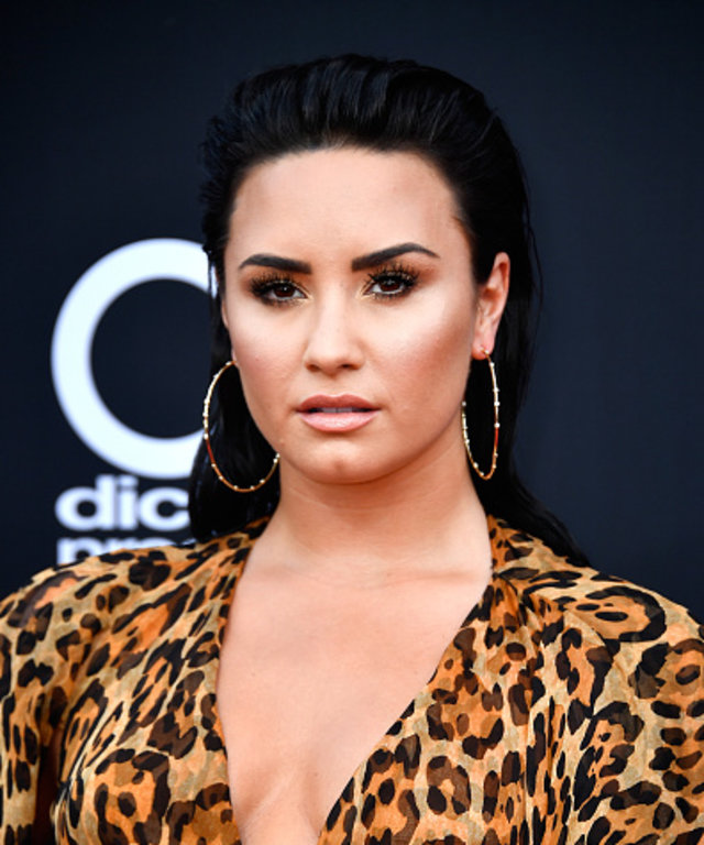 LAS VEGAS, NV - MAY 20:  Recording artist Demi Lovato attends the 2018 Billboard Music Awards at MGM Grand Garden Arena on May 20, 2018 in Las Vegas, Nevada.  (Photo by Frazer Harrison/Getty Images)