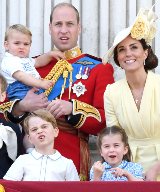 Prince Louis Trooping the Colour