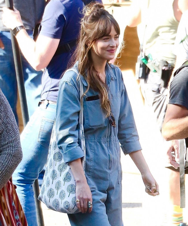 Dakota Johnson Breakup Jumpsuit