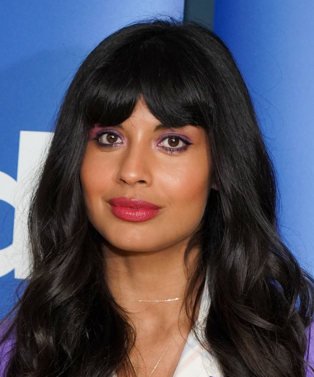 LOS ANGELES, CALIFORNIA - JUNE 17: Jameela Jamil attends Universal Television's  The Good Place  FYC at UCB Sunset Theater on June 17, 2019 in Los Angeles, California. (Photo by Rachel Luna/Getty Images)