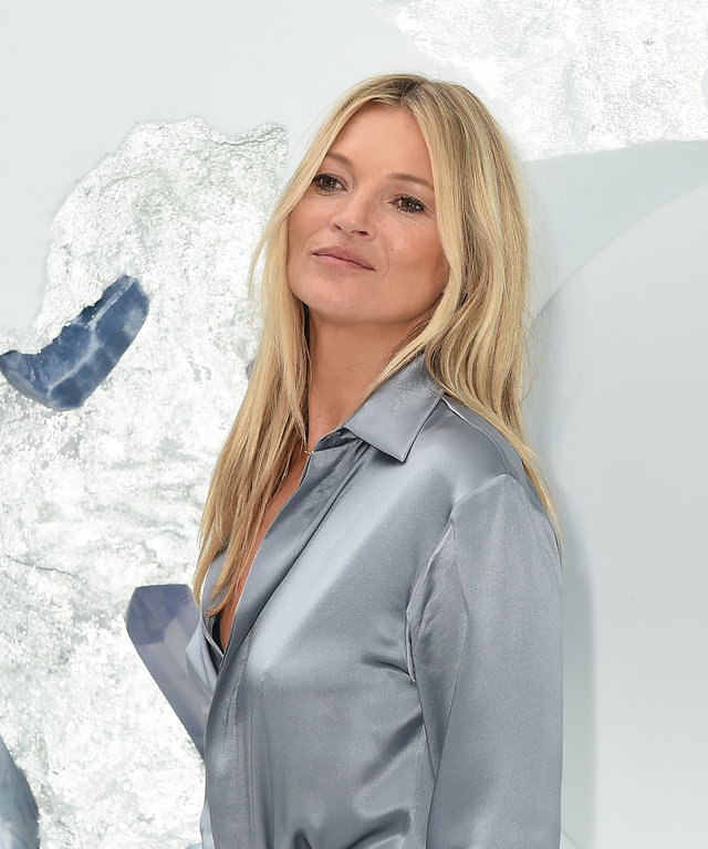 PARIS, FRANCE - JUNE 21: Kate Moss attends the Dior Homme Menswear Spring Summer 2020 show as part of Paris Fashion Week on June 21, 2019 in Paris, France. (Photo by Dominique Charriau/WireImage)