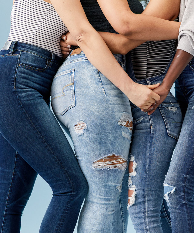 American Eagle Extended Sizing Jeans