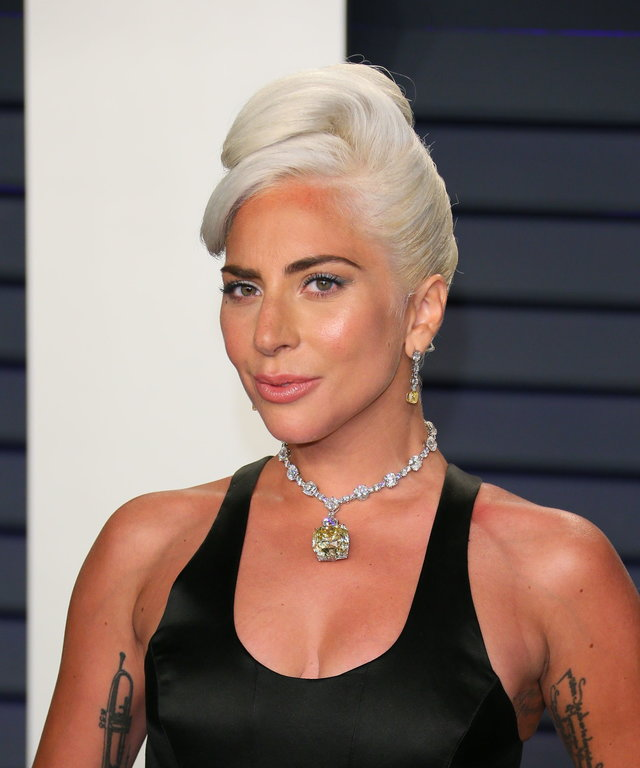 Best Original Song winner for  Shallow  from  A Star is Born  Lady Gaga attends the 2019 Vanity Fair Oscar Party following the 91st Academy Awards at The Wallis Annenberg Center for the Performing Arts in Beverly Hills on February 24, 2019. (Photo by...