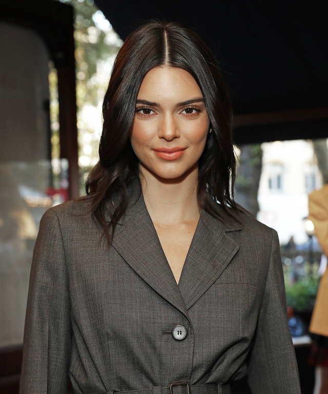 LONDON, ENGLAND - JULY 15: Kendall Jenner attends the #MOVINGLOVE dinner hosted by Felicity Jones, Derek Blasberg & Katie Grand at Bellanger on July 15, 2019 in London, England. (Photo by David M. Benett/Dave Benett/Getty Images for LOVE Magazine)