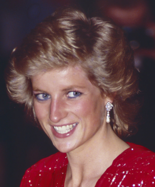 Diana, Princess of Wales attend the Premiere of When Harry met Sally
