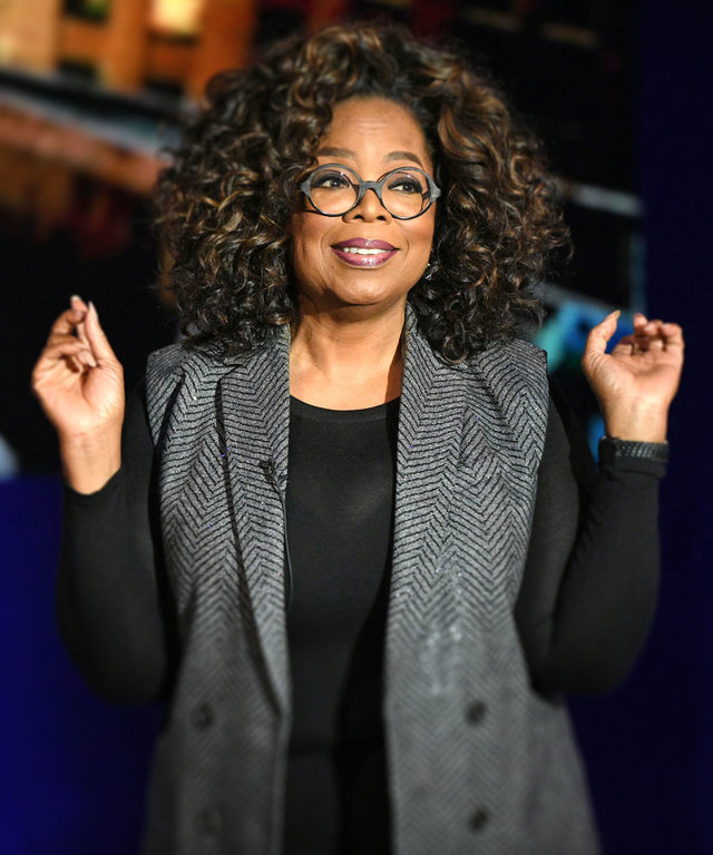 Oprah Hid in a Closet at Kennedy Compound