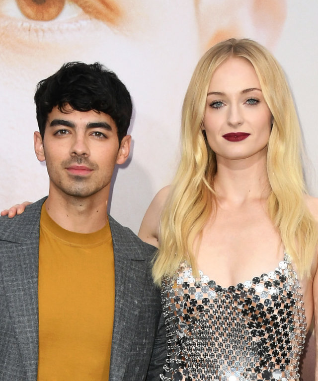 LOS ANGELES, CALIFORNIA - JUNE 03:  Joe Jonas and Sophie Turner attend the Premiere Of Amazon Prime Video's  Chasing Happiness  at Regency Bruin Theatre on June 03, 2019 in Los Angeles, California. (Photo by Jon Kopaloff/FilmMagic)