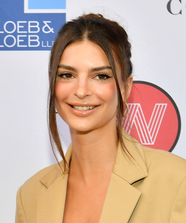 Emily Ratajkowski WrapWomen Power Women Breakfast