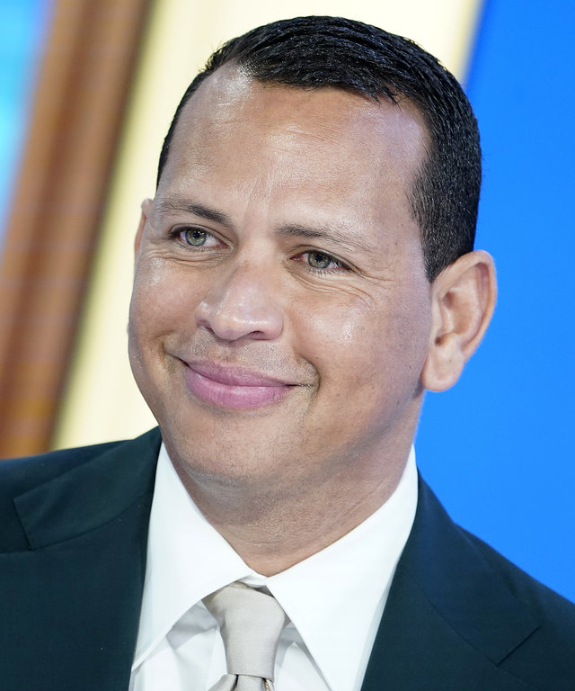 Alex Rodriguez Visits  Mornings With Maria