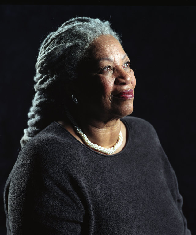 NEW YORK - AUGUST 29:  (U.S. TABS OUT AND NO SALES TO A.M.I)   Author Toni Morrison poses for a portrait for her book entitled  Love  in Midtown Manhattan on August 29, 2002 in New York City. (Photo by Todd Plitt/Getty Images)