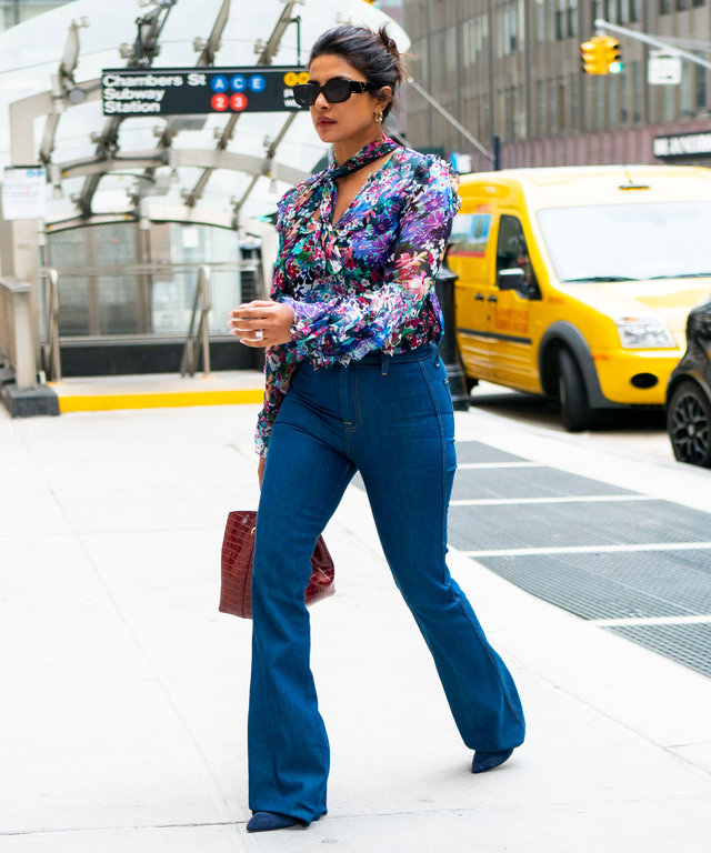 Priyanka Chopra 7 For All Mankind Jeans