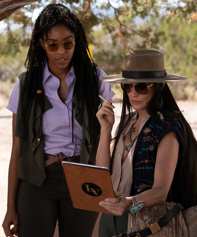 Demi Moore Jessica Williams Corporate Animals