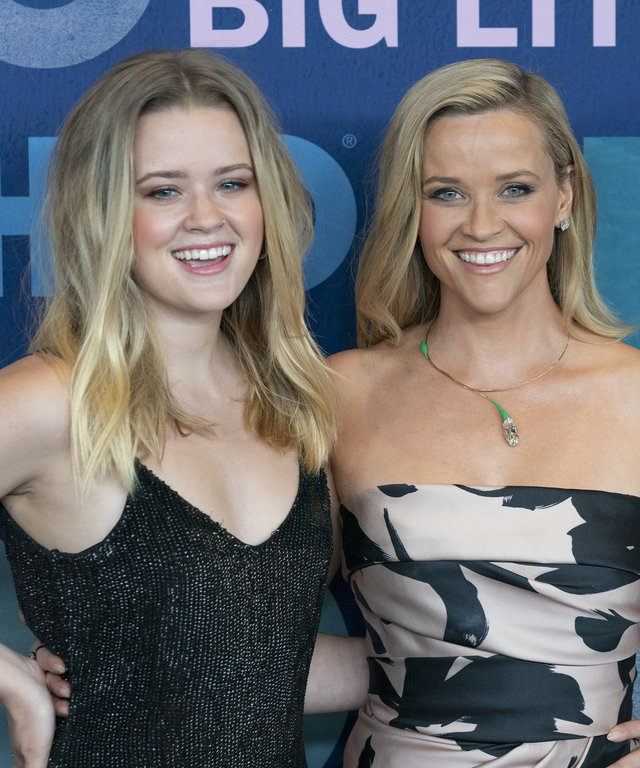 JAZZ AT LINCOLN CENTER, NEW YORK, UNITED STATES - 2019/05/29: Ava Phillippe and Reese Witherspoon attend HBO Big Little Lies Season 2 Premiere at Jazz at Lincoln Center. (Photo by Lev Radin/Pacific Press/LightRocket via Getty Images)