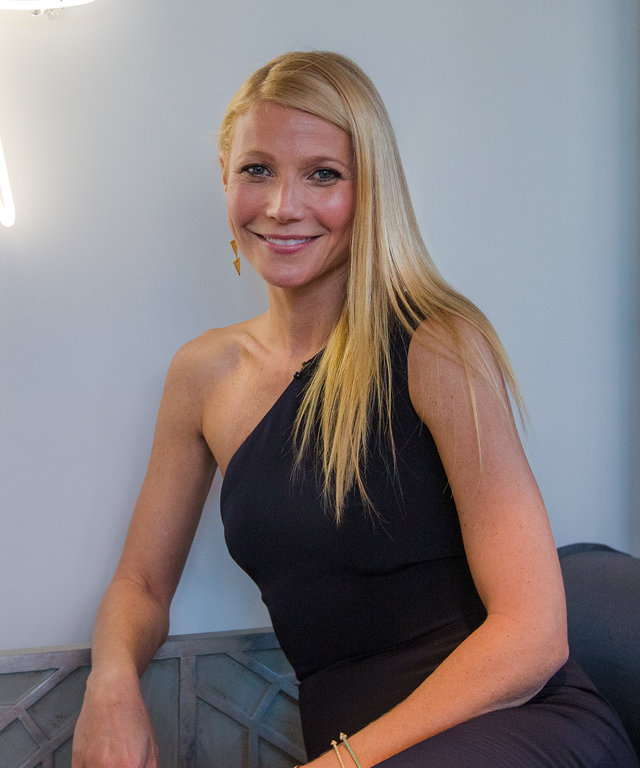 Gwyneth Paltrow Monique Lhuillier Launch Party goop pop up Dallas
