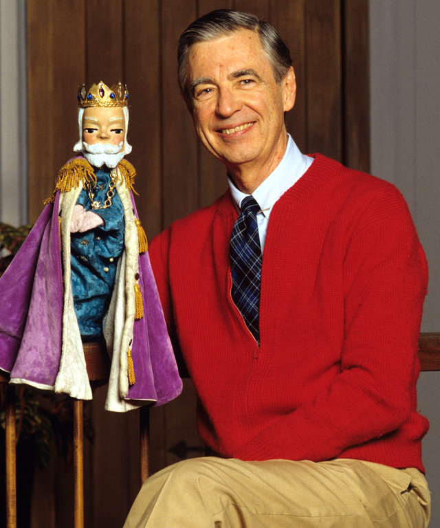 Children's Television Host Fred Rogers Mister Rogers