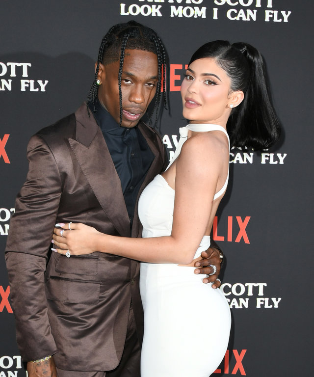 Kylie Jenner Travis Scott Netflix's  Travis Scott: Look Mom I Can Fly