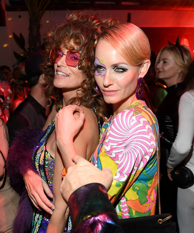 Cindy Crawford Amber Valetta 2019 Casamigos Halloween Party