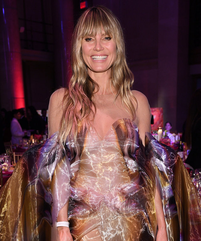 Heidi Klum Gabrielle's Angel Foundation Hosts Angel Ball 2019