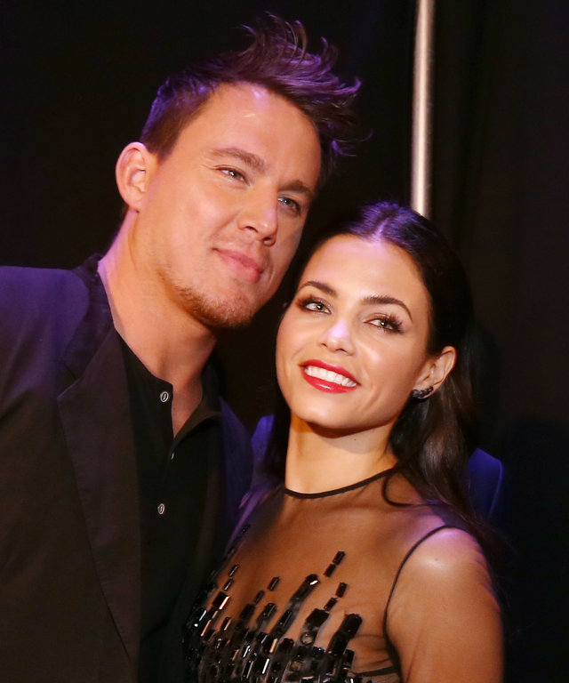 2014 MTV Movie Awards - Channing Tatum Jenna Dewan