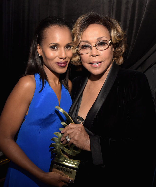 Kerry Washington Diahann Carroll 2016 ABFF Awards